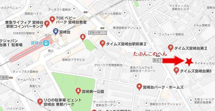 駐車場GoogleMap